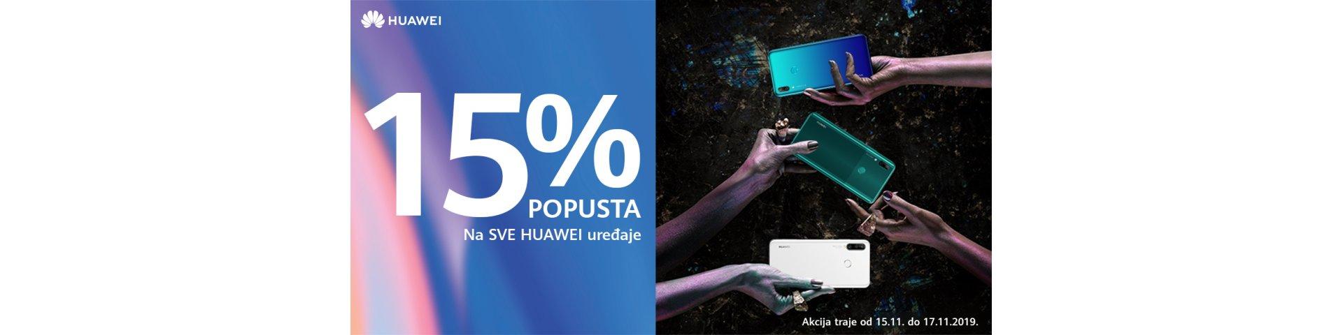 huawei vikend akcija 15%