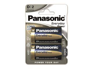 PANASONIC baterije LR20EPS/2BP Alkaline Everyday Power