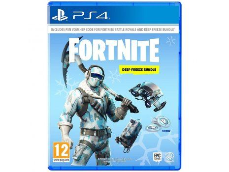 Fortnite Deep Freeze bundle PS4 (CIAB)