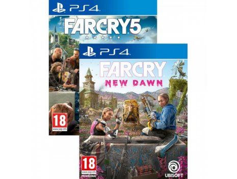 Far Cry 5 & Far Cry New Dawn set PS4 (PROMO SOA 28.10. - 08.12.19)