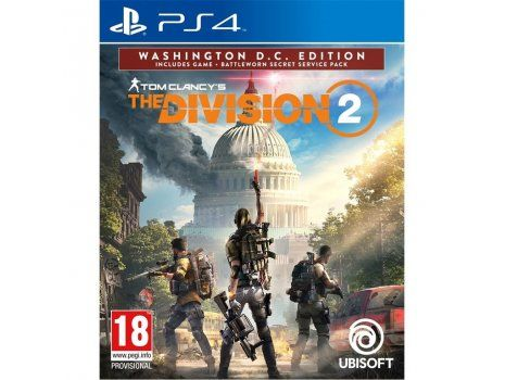 Tom Clancys The Division 2 Washington DC Deluxe Edition PS4 (PROMO SOA 28.10. - 05.01.20)