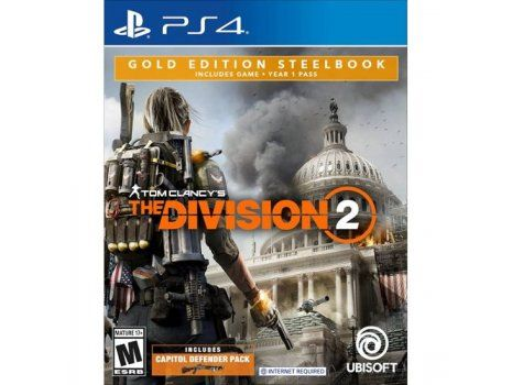 Tom Clancys The Division 2 Gold Edition PS4