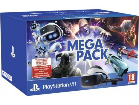 Playstation VR Mega Pack VCH + VR Worlds VCH + Camera v2 Mk4 (PROMO AKCIJA 25.05.20. - 08.06.20.)