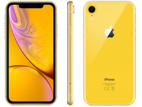 Apple iPhone XR 128 GB, ŽUTI