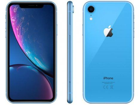 Apple iPhone XR 256 GB, PLAVE