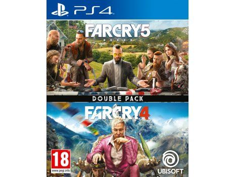 Far Cry 4 & Far Cry 5 Compilation PS4 (PROMO SOA 28.10.19 - 05.01.20)