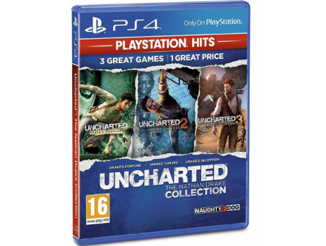 Uncharted Collection HITS PS4 (PROMO AKCIJA 25.05.20. - 08.06.20.)