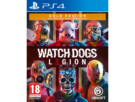 Watch Dogs Legion Gold Edition PS4 (Promo akcija 12.04.2021. - 25.04.2021.)