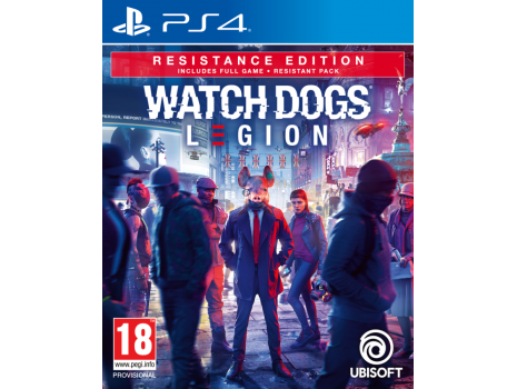 Watch Dogs Legion Resistance Edition Special Day1 Edition PS4 (Promo akcija 12.04.2021. - 25.04.2021.)