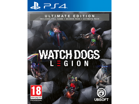 Watch Dogs Legion Ultimate Edition PS4 (Promo akcija 12.04.2021. - 25.04.2021.)