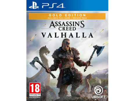 Assassins Creed Valhalla Gold Edition PS4 (Promo akcija 12.04.2021. - 25.04.2021.)