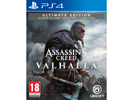 Assassins Creed Valhalla Ultimate Edition PS4 (Promo akcija 12.04.2021. - 25.04.2021.)