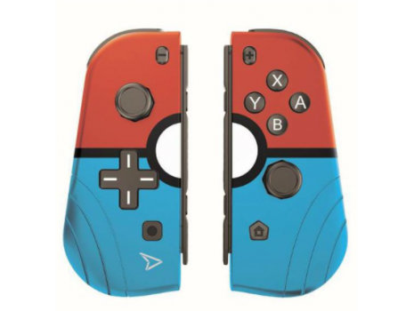 Twin pads - set of 2 wireless controllers - r&b (switch) Steelplay (Promo akcija 12.04.2021. -  09.05.2021.)