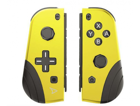 Twin pads - set of 2 wireless controllers -yellow (switch) Steelplay (Promo akcija 12.04.2021. -  09.05.2021.)