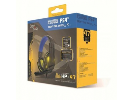 Wired headset  HP47 (PS4) (Promo akcija 12.04.2021. -  09.05.2021.)