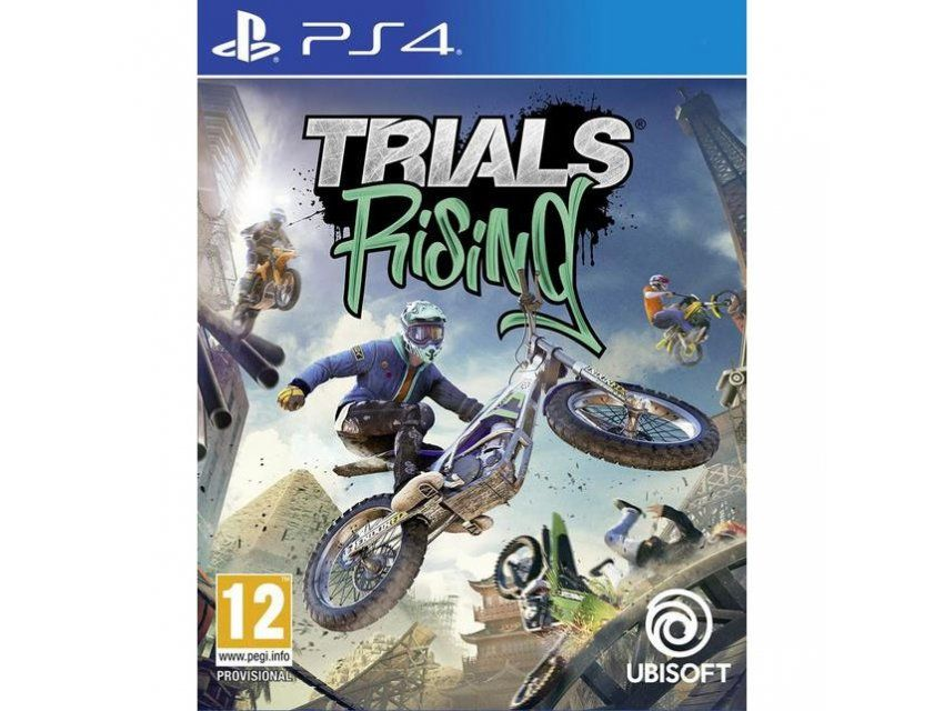 Trials rising Gold PS4